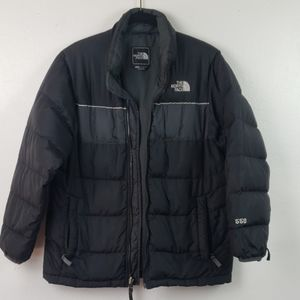 North Face Boys Puffer Jacket Sz Large
